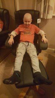 Wspaniay relaks w wygodnym fotelu :)